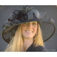 Royal Ascot Derby Hat in Black