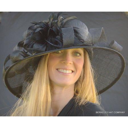 Royal Ascot Derby Hat in Black