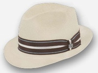 Sleek, Shantung Fedora by Biltmore