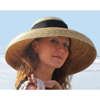 Bell Brim Wheat Straw Sun Hat