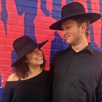 His and Hers Flat Brim Fedora