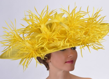 California Derby Hat, Yellow