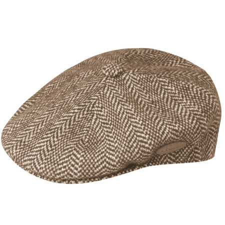 Brown Kangol Herringbone 504