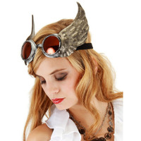 Silver Winged Goggles