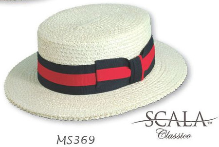 Straw Boater Hat 03d6d3972da