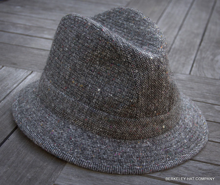 Traditional Salt and Pepper Walking Hat