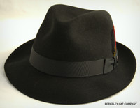 Stetson On Assignment Fedora in Fur Felt