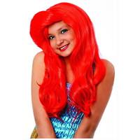 Mermaid Wig in Red