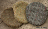 Stetson Harris Tweed Ivy Caps