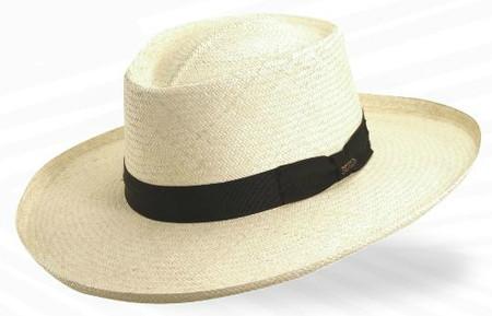 Big Brim Panama Plantation Gambler Hat