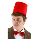 Dr.Who Fez and Bowtie Set, Officially Licensed