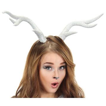 Elope Deer Antlers in white