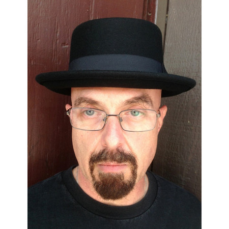 Men s Pork Pie Hat in Wool Felt front view 0f20f31161b