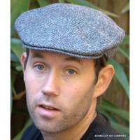 Irish Donegal Tweed Ivy Cap