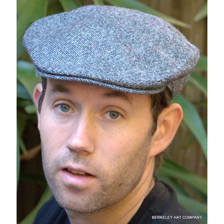 Irish Donegal Tweed Ivy Cap