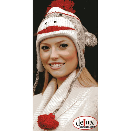 ccafd331995b45 Knit Sock Monkey Hat