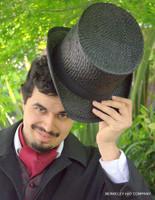 Straw Top Hat, Raffia