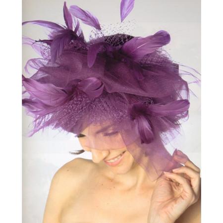 Women's Dramatic Fascinator Hat