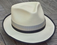 Easton Shantung Fedora by Biltmore