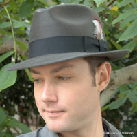 1960's Fur Felt Mobster Hat