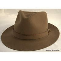 Stetson Belfast Fedora in Walnut Brown