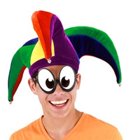 Court Jester Hat Multi-Colored