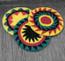 Crocheted Cotton Rasta Berets From Guatemala
