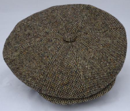 Italian Wool Newsboy Cabbie Cap