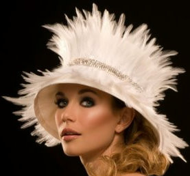 Feather Bell Hat by Arturo Rios