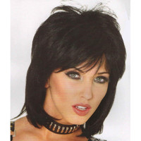 80's Cool Wig in Black