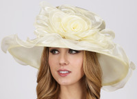 Bucket List Derby Hat, Ivory