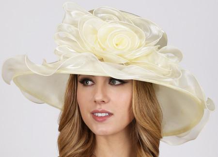 Bucket List Derby Hat, Ivory