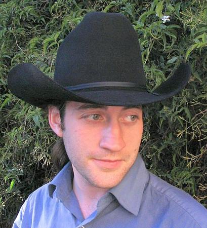 Stetson Rancher in black felt