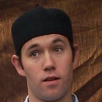 Wool Fez Hat: short, black