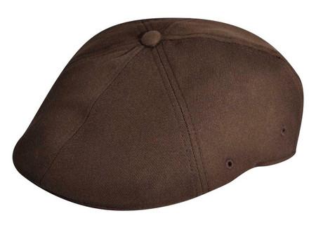 Kangol Flexfit Wool Blend 504 Cap in brown