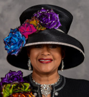 First Lady Church Hat by Eve Andrea, Scruples