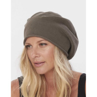 Cotton Convertible Slouchy Beret