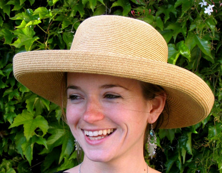Ladies Turn Up Brim Hat