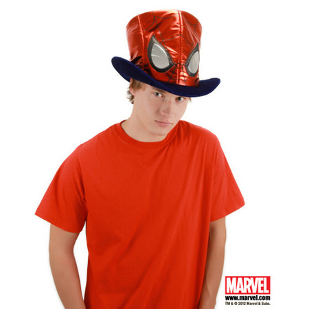 Spider Man Slanted Top Hat
