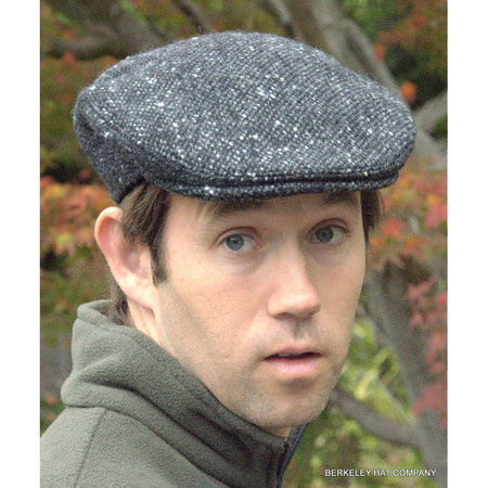 Irish Donegal Heavy Weight Ivy Cap, Grey