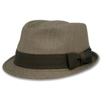 Low Crown Fedora Hat