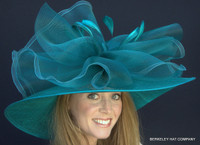 Finish Line Favorite Kentucky Derby Hat in Teal