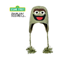 Oscar the Grouch Sesame Street Muppet hat