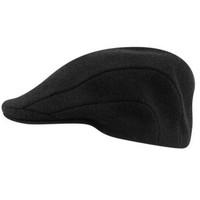 Black wool 507 cap