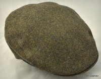 Fine Weave Donegal Driving Cap II Olive Green