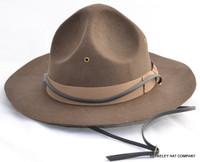 Mountie Hat in Wool Felt