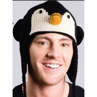 0c86c880f78d9e Kids Knit Penguin Hat