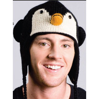 Kids Knit Penguin Hat