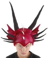 Red Dragon Hat by Elope