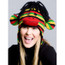 Rasta Sock Monkey Hat